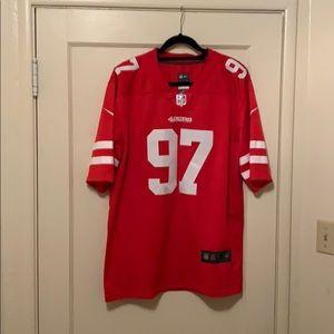 49ers jersey Bosa #97
